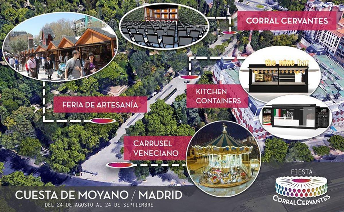 cuesta de moyano 1 - Fiesta Corral Cervantes en la Cuesta de Moyano