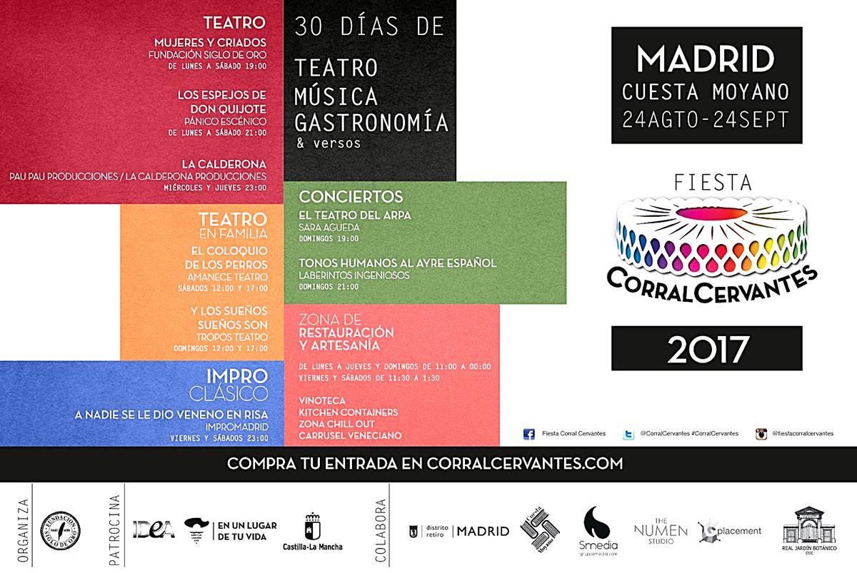 cuesta de moyano - Fiesta Corral Cervantes en la Cuesta de Moyano