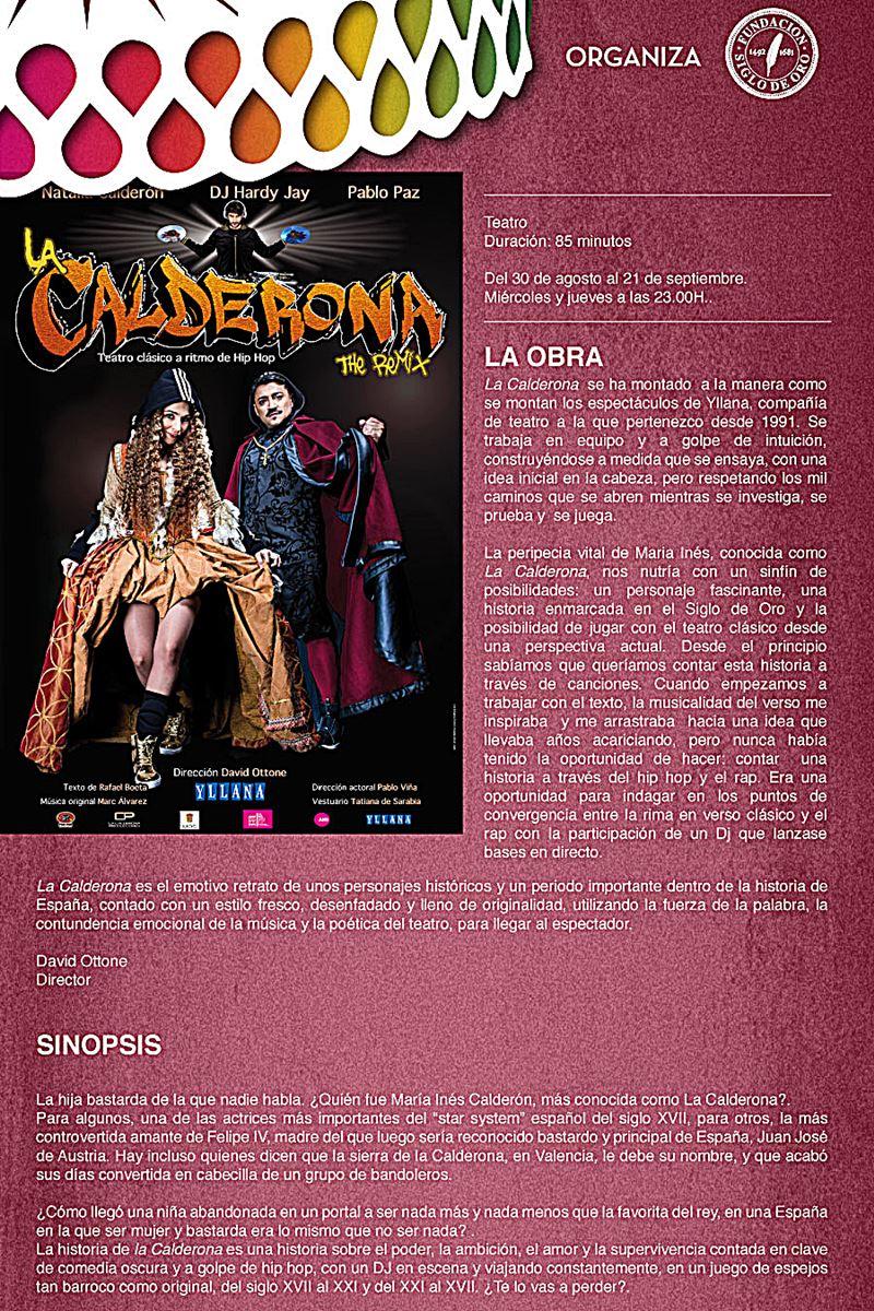 la calderona 1 - La Calderona en Fiesta Corral Cervantes en la Cuesta de Moyano
