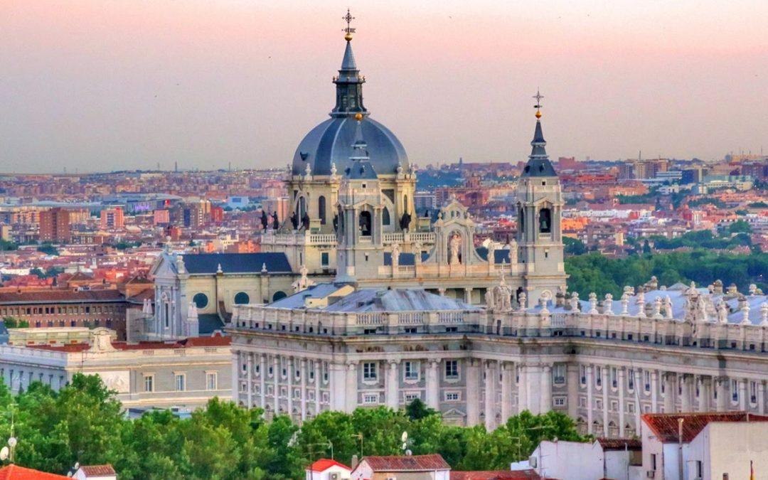 Madrid desde el cielo en Nice to Meet You y homenaje a James Brown