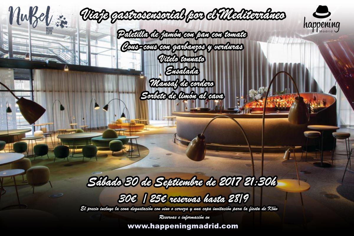 nubel cena 30 de septiembre - Cena degustación y experiencia gastrosensorial en Nubel. Un viaje por el Mediterráneo