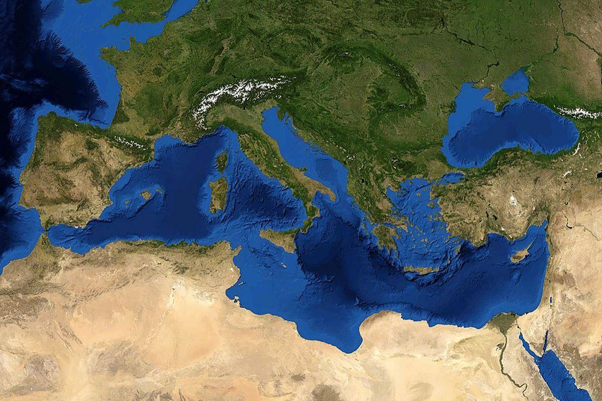 un viaje por el Mediterráneo