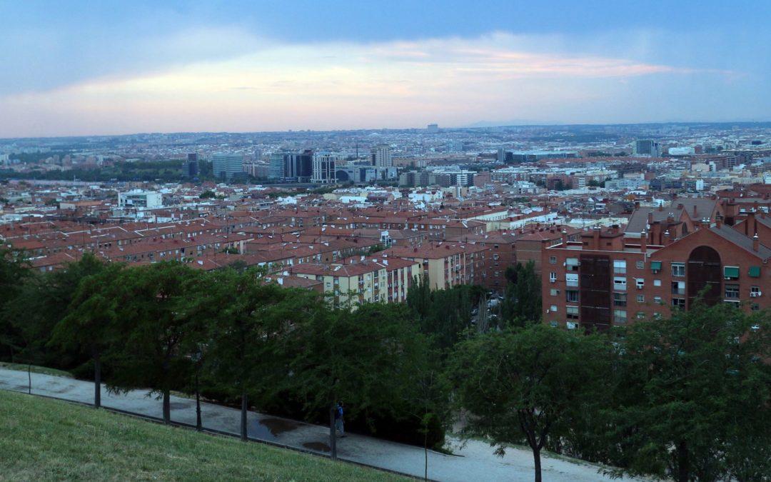 Llegada del otoño 2017 desde el mirador del Parque de las Siete Tetas.