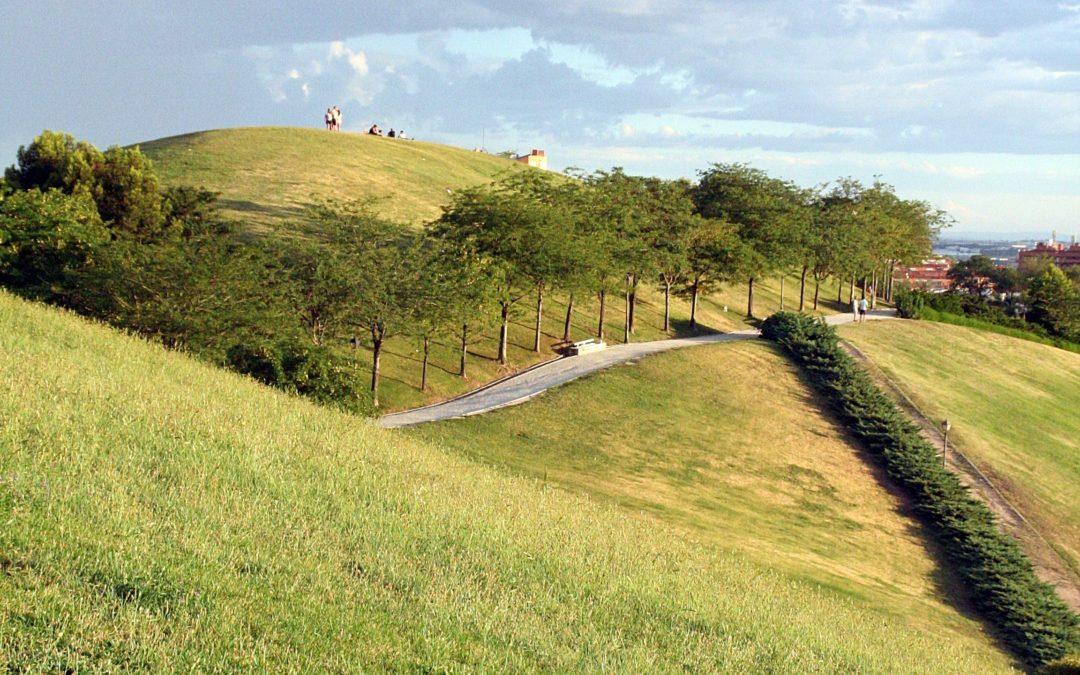 Senderismo verde urbano: De Sainz de Baranda al parque de las Siete Tetas.