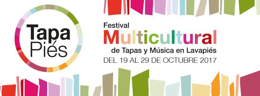 tapapies 2017 cartel - Tapapiés 2017. Ruta Multicultural de la tapa y la música de Lavapiés. Las rutas Happening
