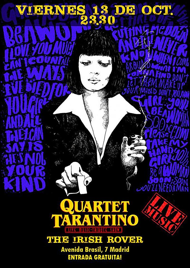 tarantino 1 - Viernes 13 con Las jarritas, Tarantino Quartet y Mobydick