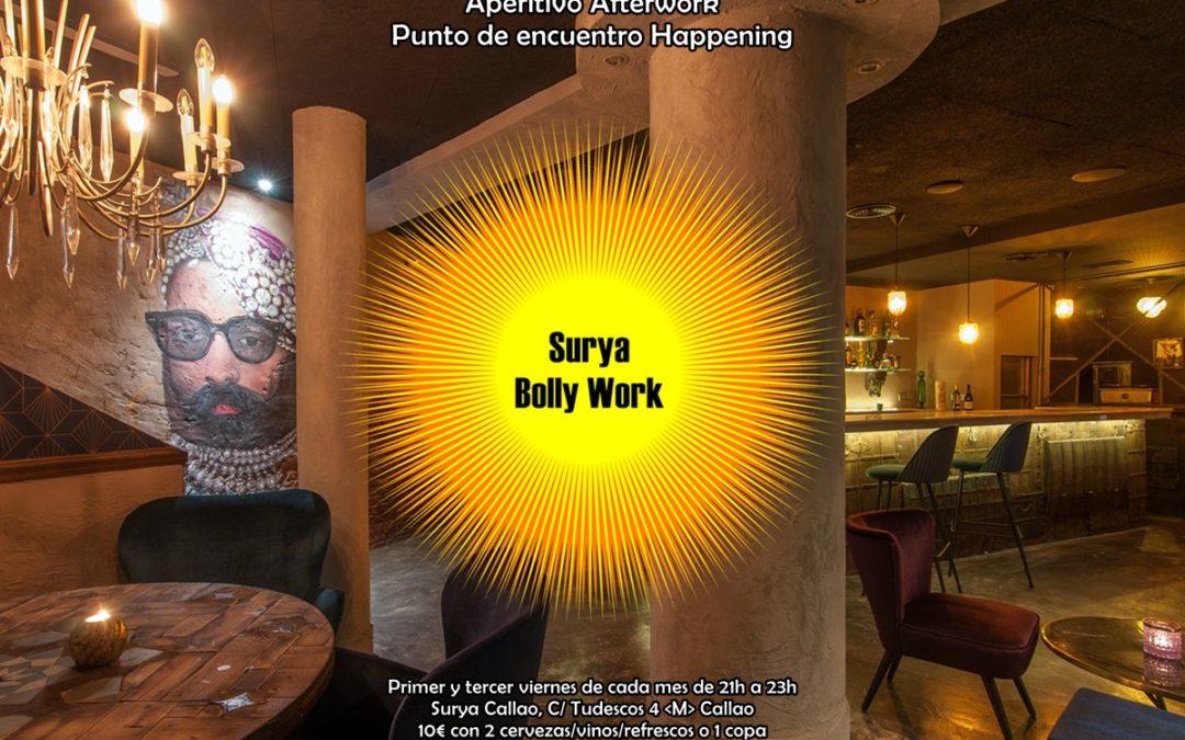 Surya Bolly Work. Aperitivo Afterwork Hindú