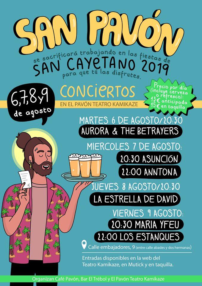 san pavon 2019 - San Cayetano, San Lorenzo y La Paloma 2019. ¡Ven a celebrarlo!