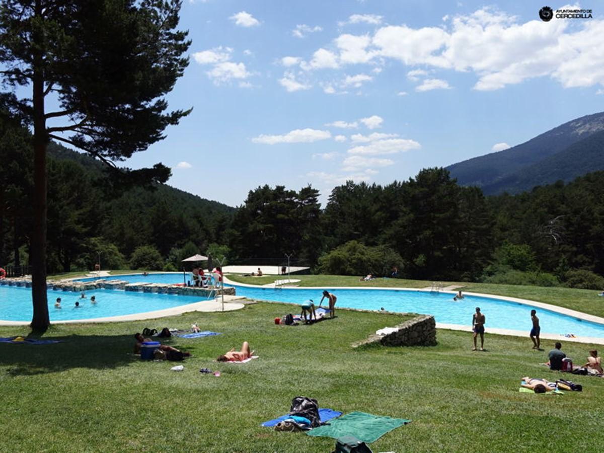 cercedilla 2 - Excursión con piscina y tirolinas en Las Berceas - Cercedilla – Valle de la Fuenfría