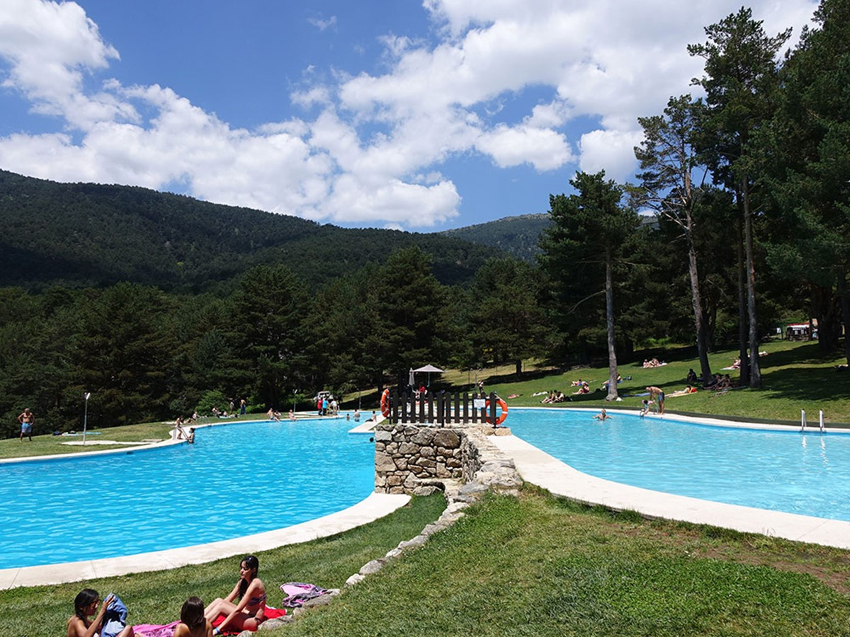 cercedilla 3 - Excursión con piscina y tirolinas en Las Berceas - Cercedilla – Valle de la Fuenfría