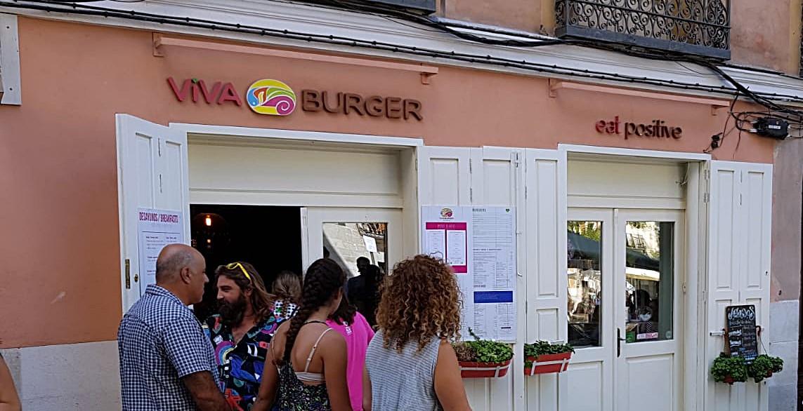 viva burguer 1 - Charla práctica sobre uso  Meetup y hamburguesas veganas en ¡Viva Burguer!