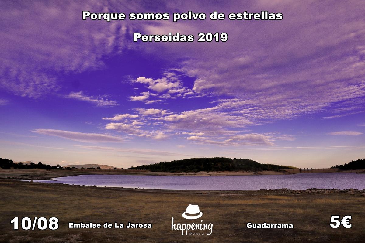 perseidas 2019 portada sandra 1 - Perseidas 2019 en el Embalse de La Jarosa en Guadarrama
