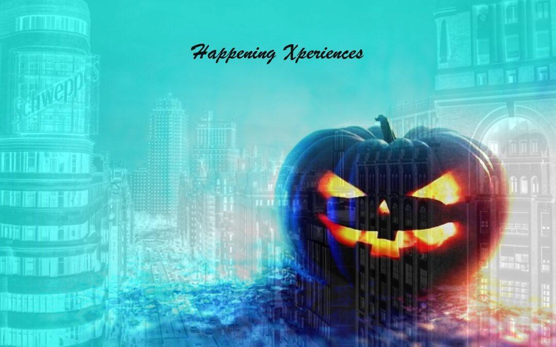 Xperiencias Happening al llegar Halloween