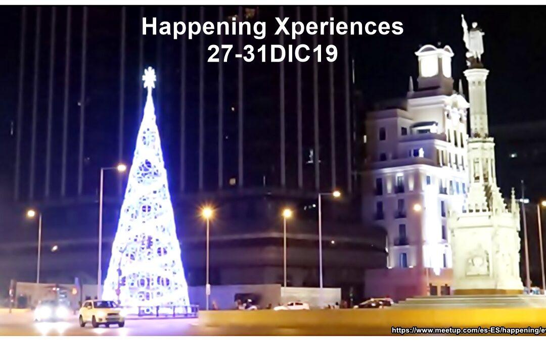 ¡Ya llegan las últimas experiencias Happening del año 2019!