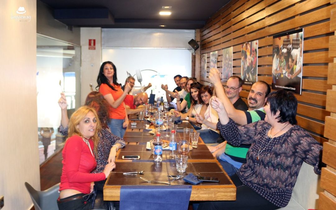 Nuestra segunda experiencia en Robin Food: El restaurante de mensajeros de la paz
