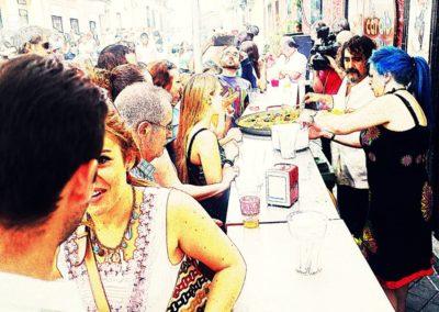 IMG 4596 2 400x284 - Fiestas de La Paloma: La Gran Paella