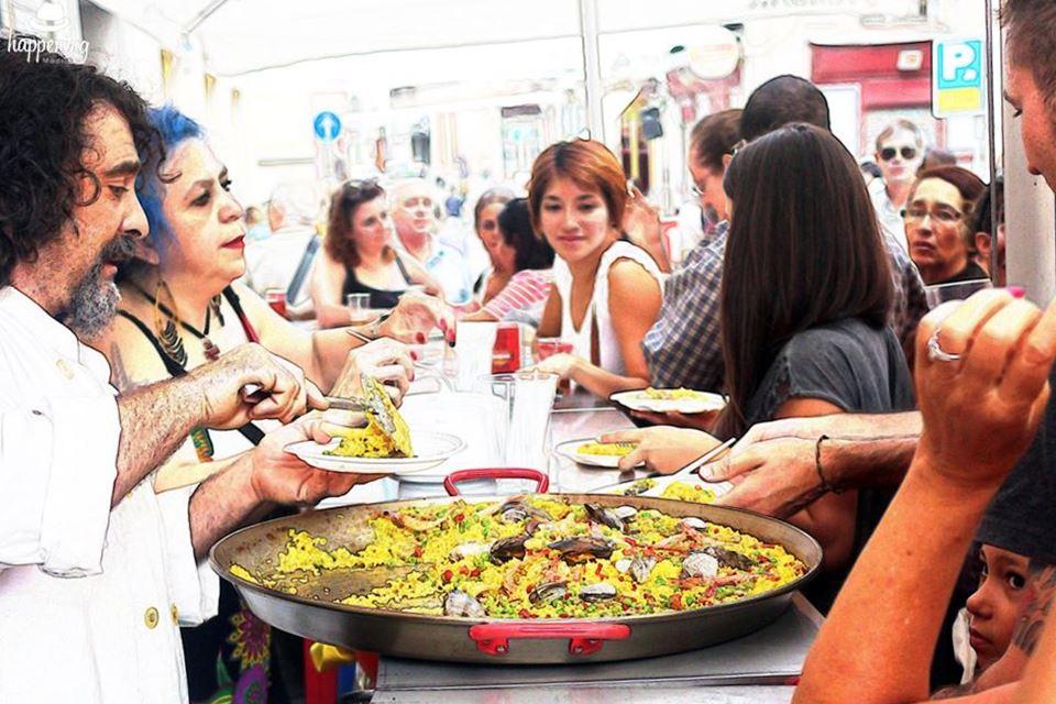 Fiestas de La Paloma: La Gran Paella