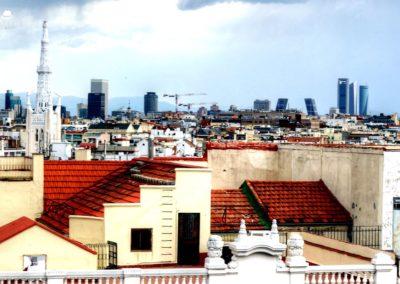 IMG 7616 400x284 - El Cielo de Alcalá: La terraza en la azotea del Hotel H10 Puerta de Alcalá