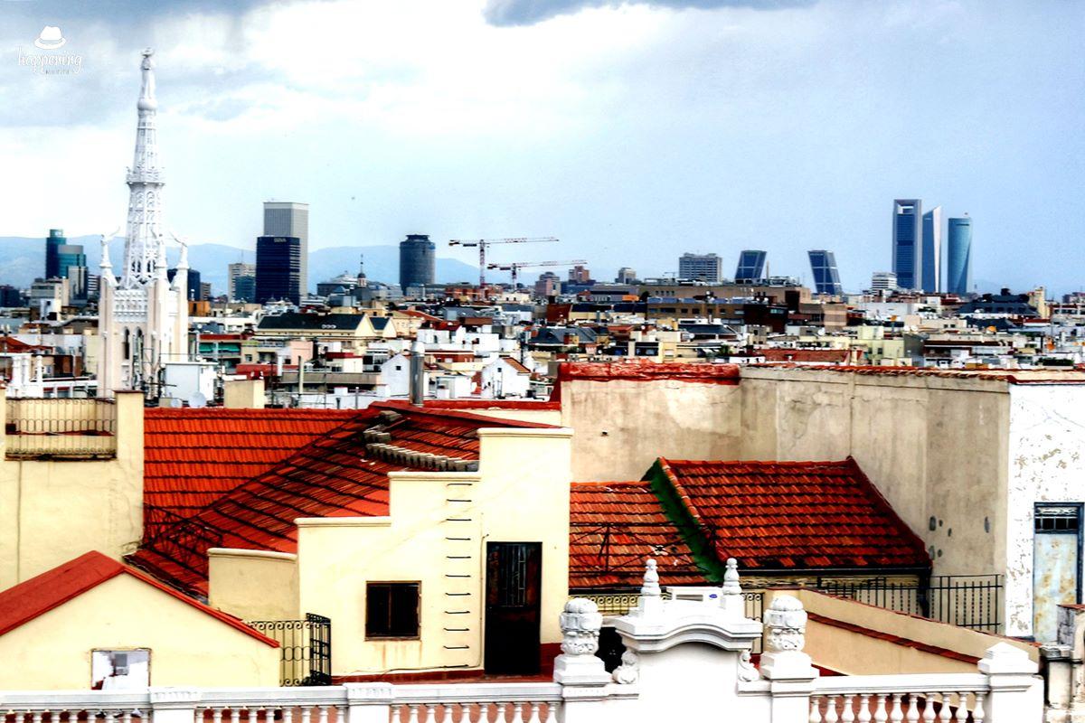 IMG 7616 - El Cielo de Alcalá: La terraza en la azotea del Hotel H10 Puerta de Alcalá