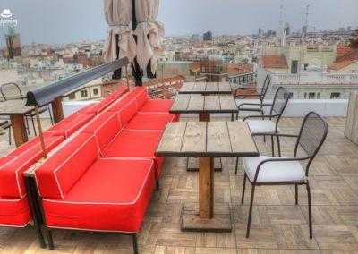 IMG 7637 400x284 - El Cielo de Alcalá: La terraza en la azotea del Hotel H10 Puerta de Alcalá