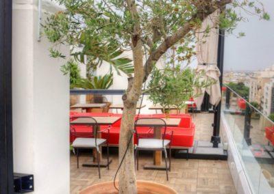 IMG 7643 400x284 - El Cielo de Alcalá: La terraza en la azotea del Hotel H10 Puerta de Alcalá