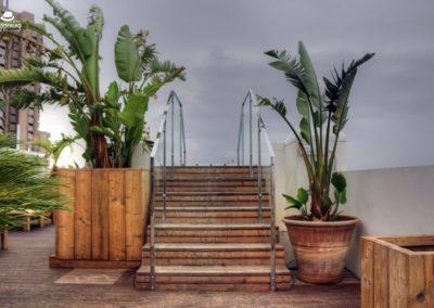 IMG 7645 400x284 - El Cielo de Alcalá: La terraza en la azotea del Hotel H10 Puerta de Alcalá