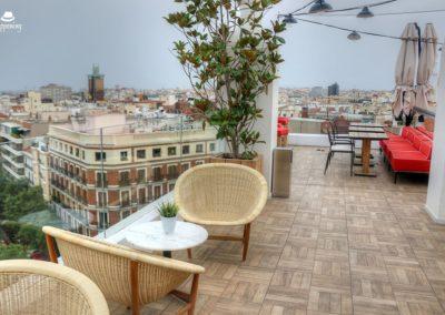 IMG 7646 400x284 - El Cielo de Alcalá: La terraza en la azotea del Hotel H10 Puerta de Alcalá
