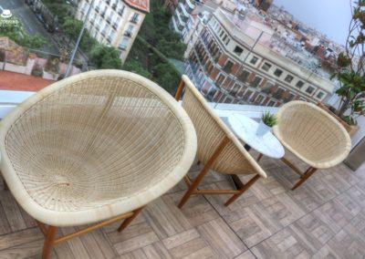 IMG 7647 400x284 - El Cielo de Alcalá: La terraza en la azotea del Hotel H10 Puerta de Alcalá