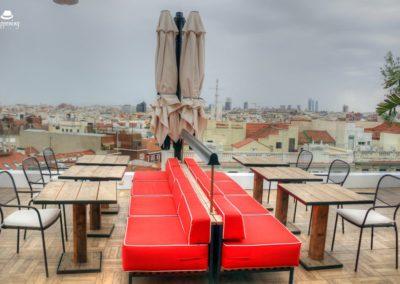 IMG 7650 400x284 - El Cielo de Alcalá: La terraza en la azotea del Hotel H10 Puerta de Alcalá