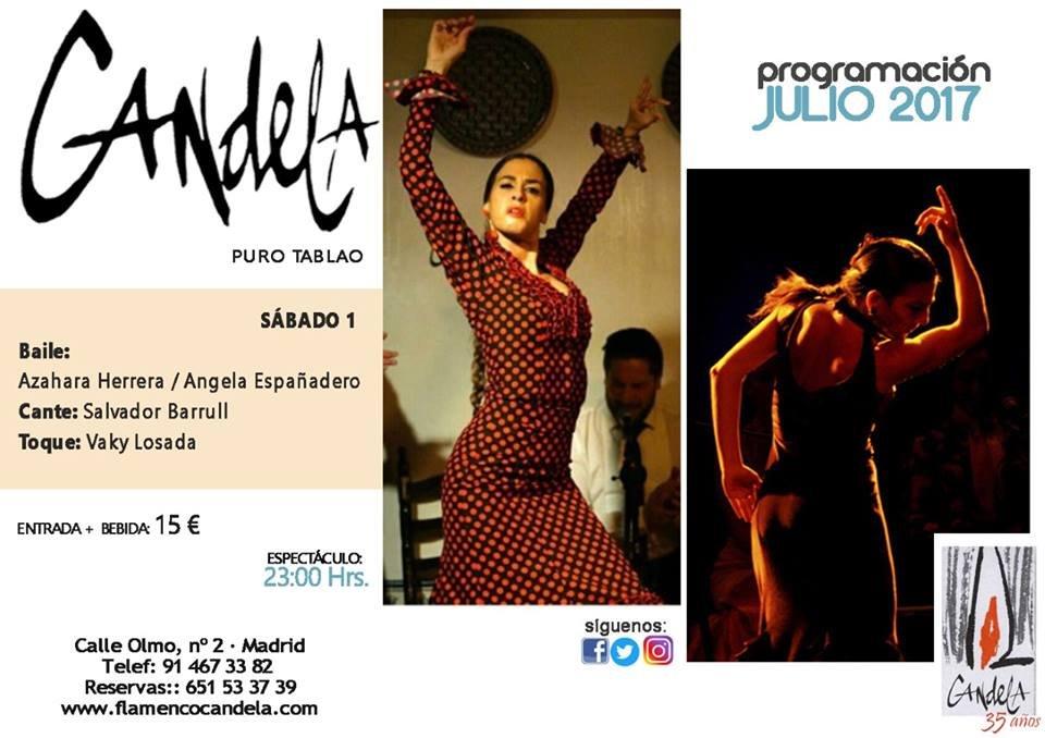 candela 1 de julio - Los conciertos de flamenco en Candela y Happening Madrid