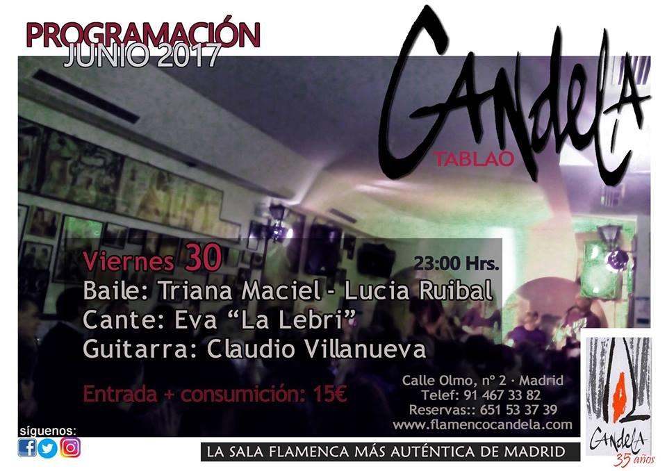 candela 30 de junio - Los conciertos de flamenco en Candela y Happening Madrid