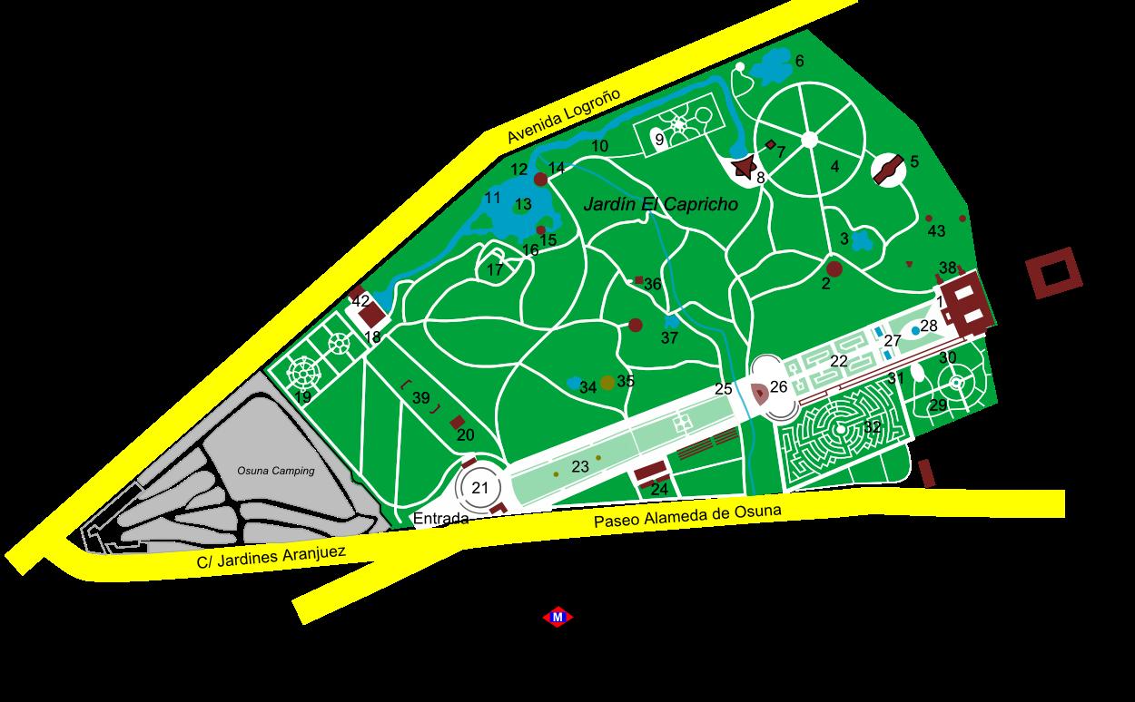 Photowalk visita al parque del capricho happening madrid for Jardin historico el capricho paseo alameda de osuna 25