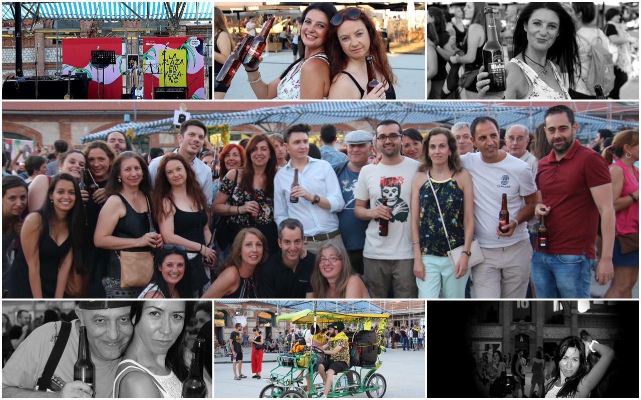 Fiesta de clausura de plaza Matadero 2017