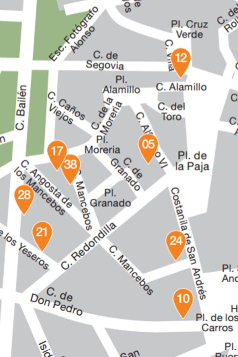 la latina pincho week zona 2 - 50 locales en La Latina Pincho Week en su versión 2017