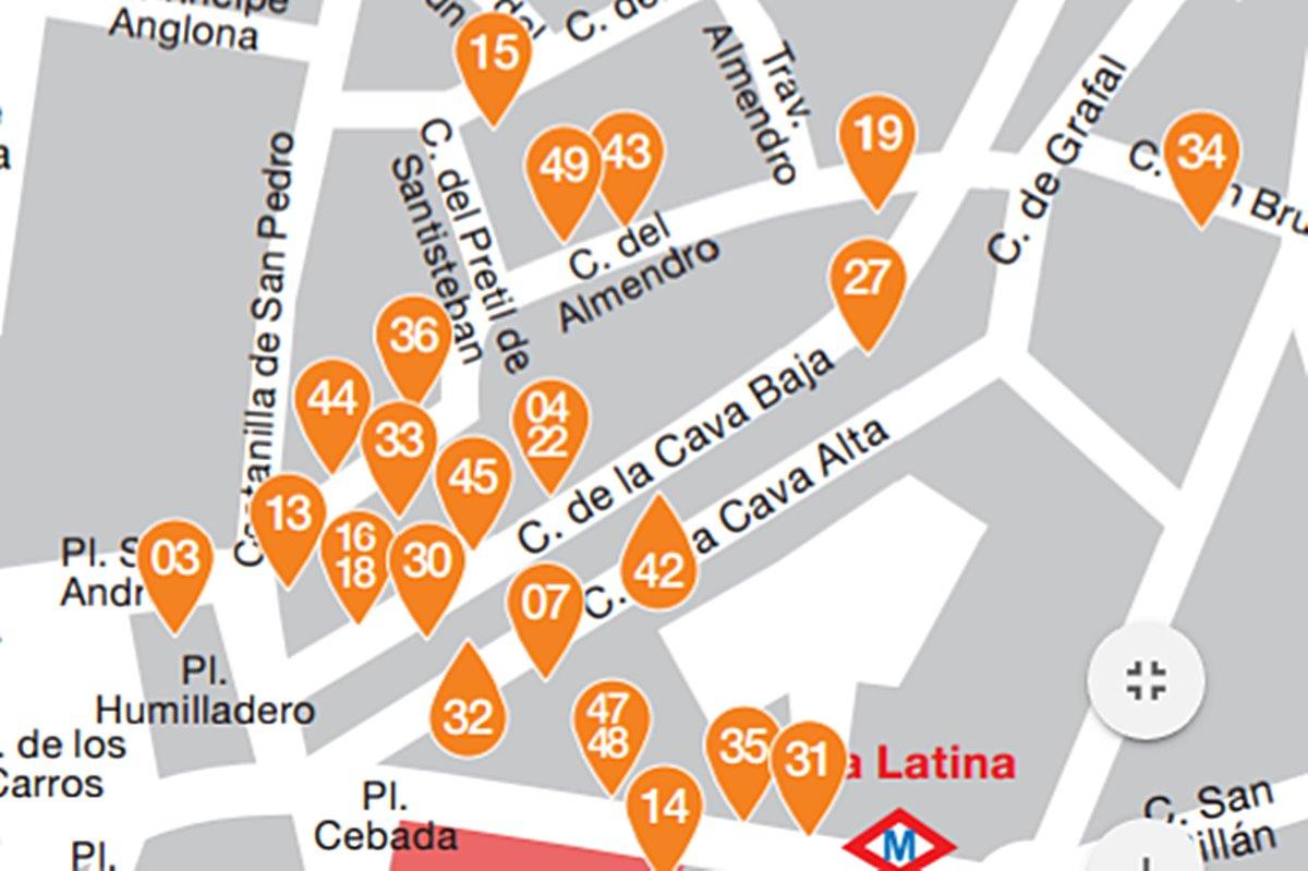 la latina pincho week zona 4 - 50 locales en La Latina Pincho Week en su versión 2017