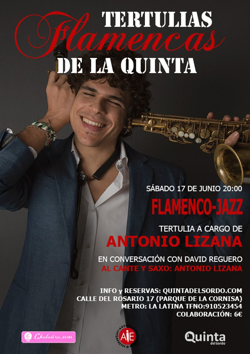 lizana charla - Tertulias Flamencas: Antonio Lizana en la Quinta del Sordo.