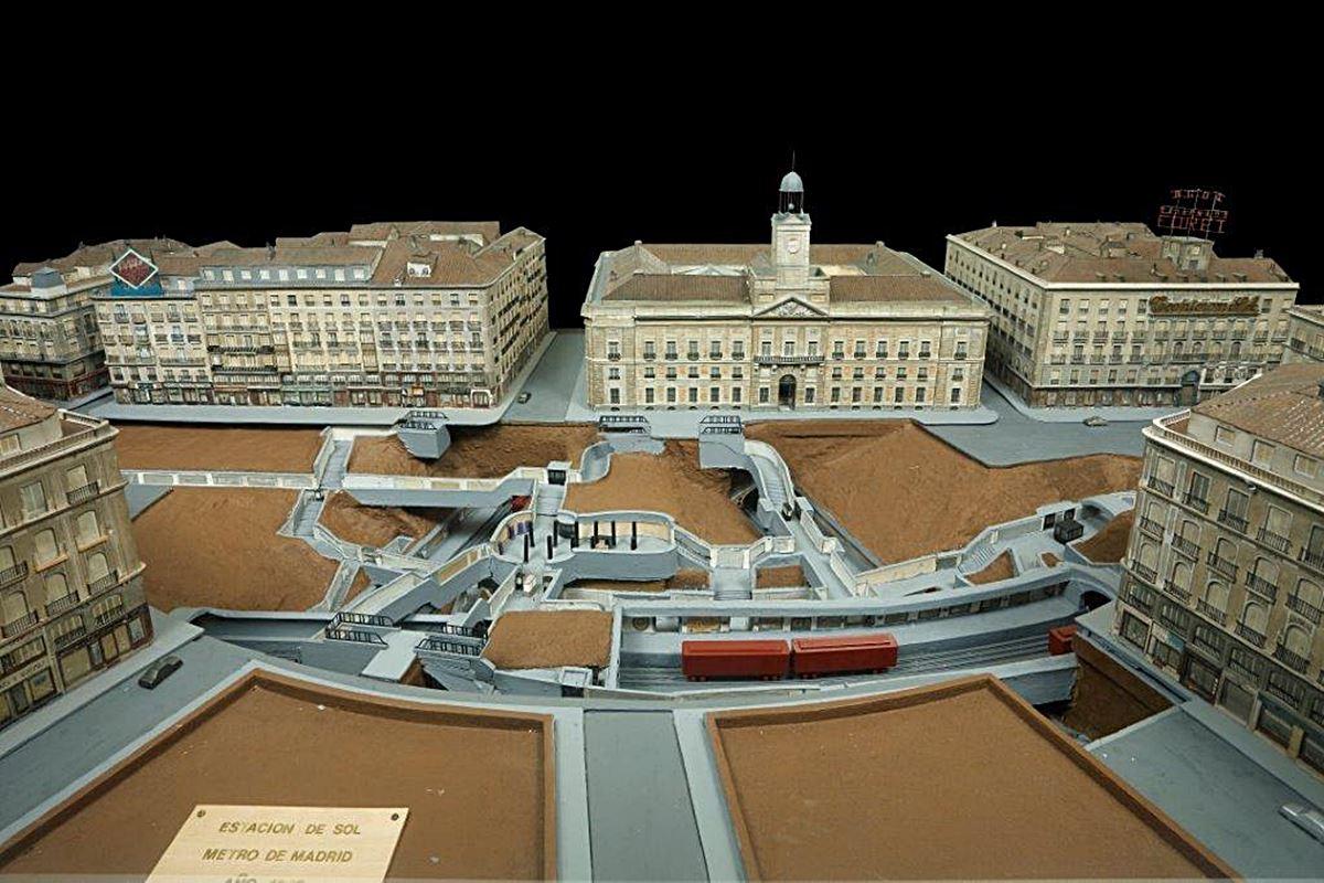 Maqueta de la Puerta del Sol