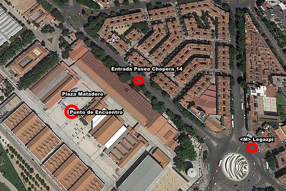 matadero plano - Viernes en  la terraza de verano del Matadero con Happening Madrid