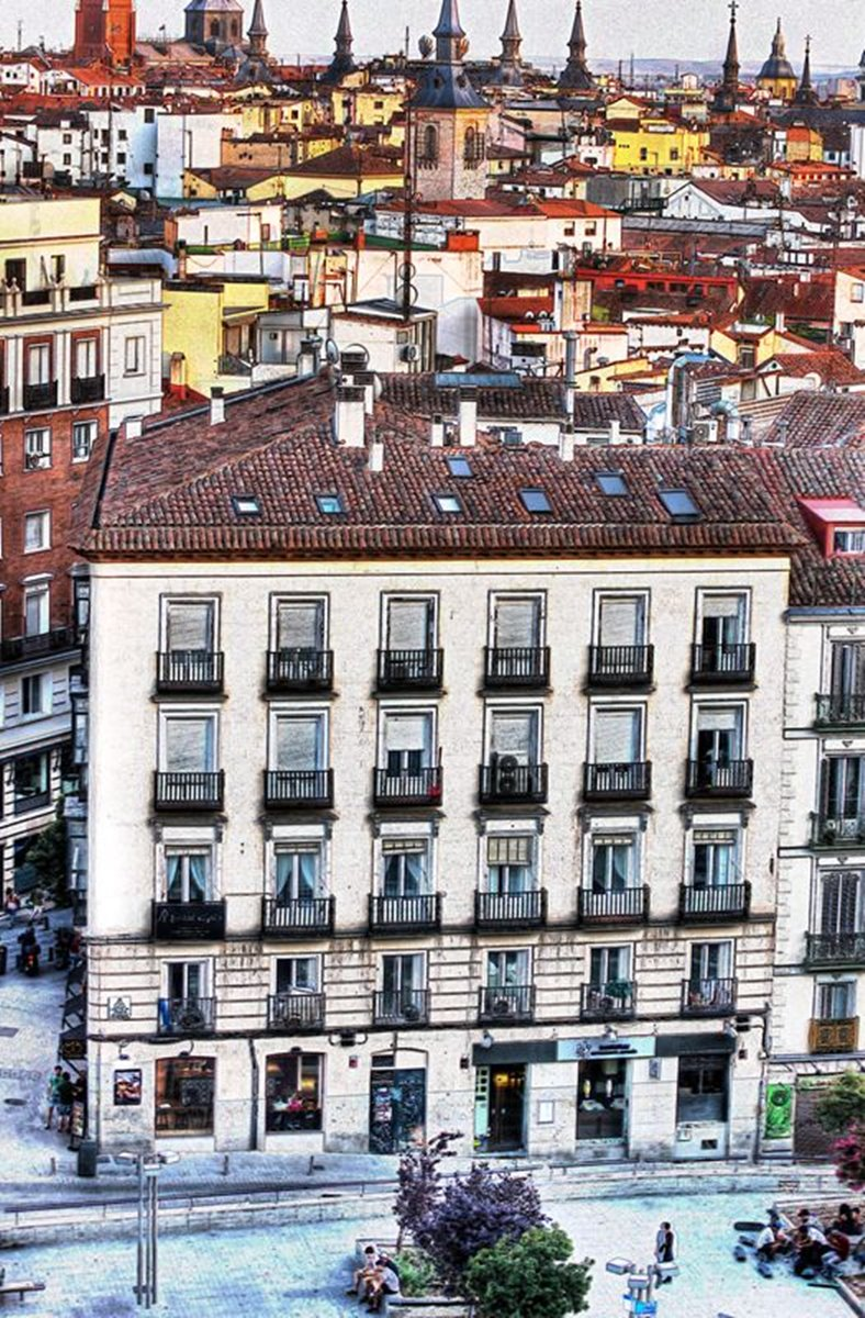 mercure 3 - Afterwork. Madrid desde el cielo del Sunset Lockers