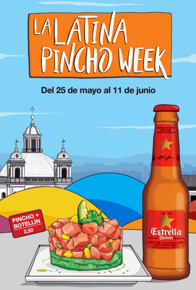 pincho week 2017 - 50 locales en La Latina Pincho Week en su versión 2017