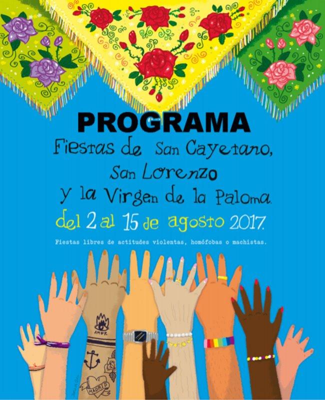 programa fiestas la paloma 2017 - Las fiestas de la Paloma 2017